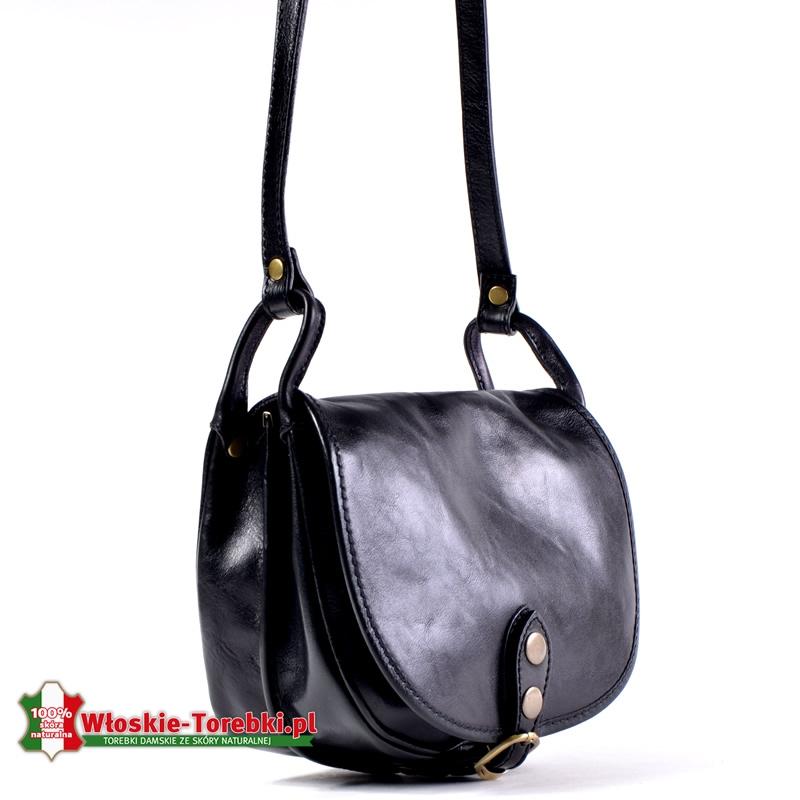 Mała torebka Ines w kolorze czarnym