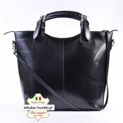 Czarna torba Sara - mieści A4, oryginalna