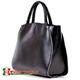 Czarna duża torba Tiziana - mieści A4