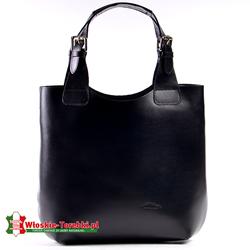 Nicolina torba w kolorze czarnym wyjmowany wkład wewnętrzny