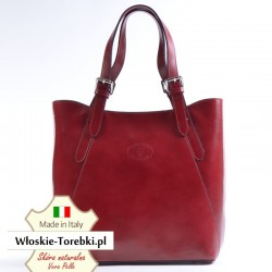 Torba Donatella w kolorze czerwonym