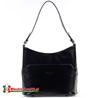 Średniej wielkości elegancka czarna torebka na ramię Marcella