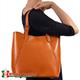 Mieszcząca A4 skórzana torba miejska na ramię Donatella
